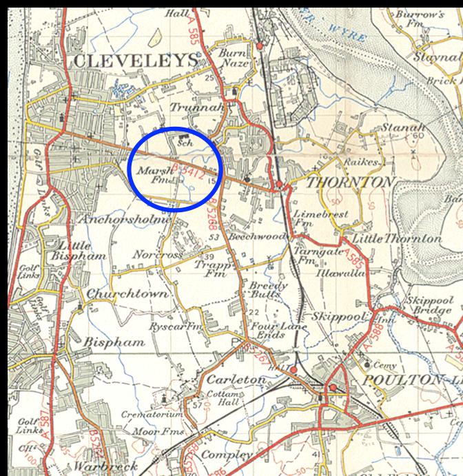 TCHS-Thornton Cleveleys circa 1950