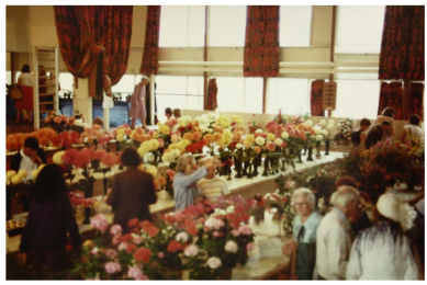 TCHS-Flower Show in school hall