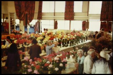 TCHS-Flower Show in school hall