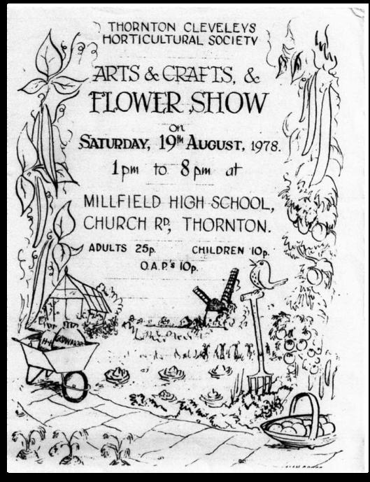 TCHS-Show programme 1978