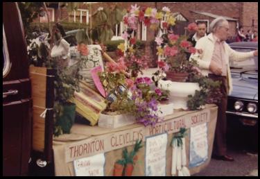 TCHS gala float 1982