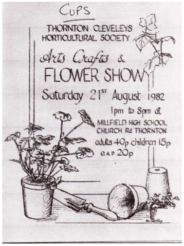 TCHS Show programme August 1982