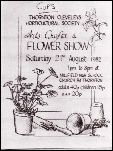 TCHS Show programme August 1982