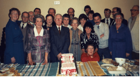 TCHS Committee in 1986
