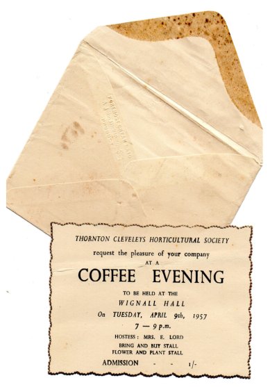 TCHS-Coffee Evening invitation