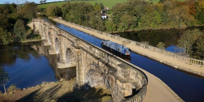 Lancaster Canal - Lune Aqueduct